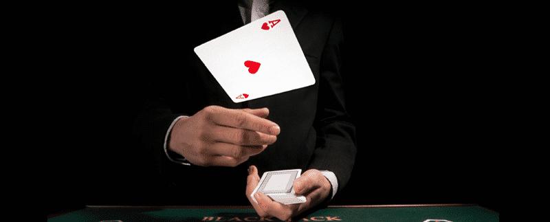 goochelen kaarttrucs